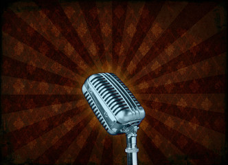 Grunge microphone