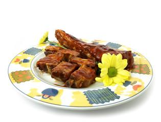 Carne de cerdo a la barbacoa