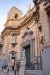 façade d'une église à Malte