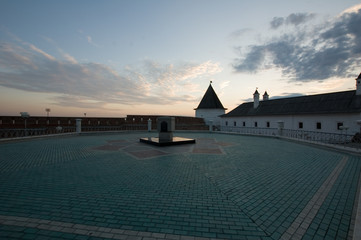 in the kazan kremlin