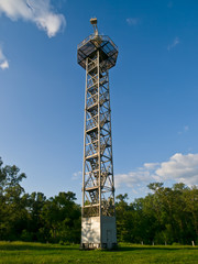 Parachute tower