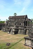 Buddhist temple at Angkor in Cambodia
