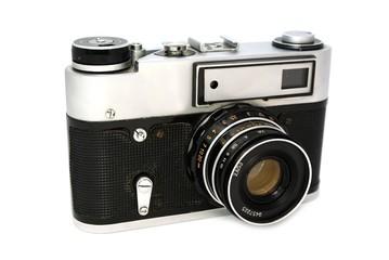 Old 35mm photo camera