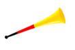 Leinwanddruck Bild - Vuvuzela - Deutschland