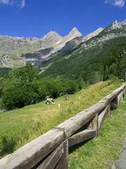 "The ""Lost Mount"" (Monte Perdido), Ordesa"