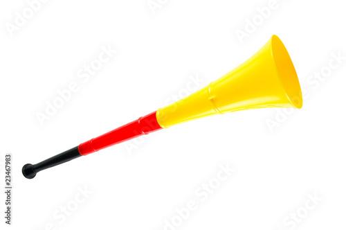 Leinwanddruck Bild Vuvuzela - Deutschland
