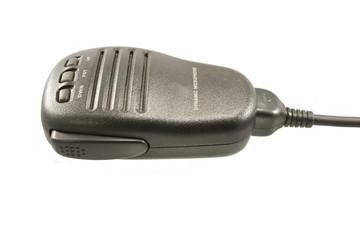 microfone PTT em fundo branco