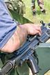 Dettaglio di mitragliatore