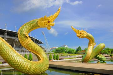 The Naga statue