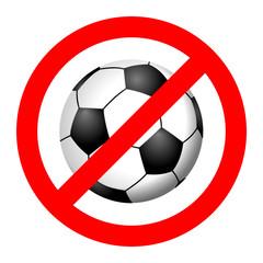 verbot fussball I