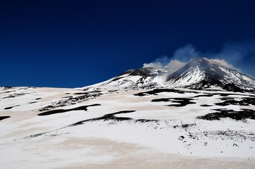 Walking on the Etna