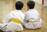 Fototapety karate boys
