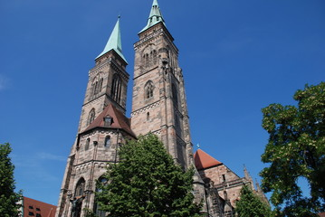 Sebalduskirche Nürnberg St.Sebald Kirche Evangelisch Bayern