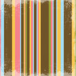 Happy Retro Stripes Textured Background
