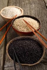 mix of rice - mix di riso