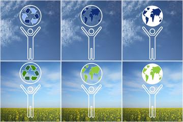 Ensemble protégeons notre planète
