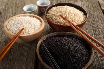 mix of rice - varieta' di riso