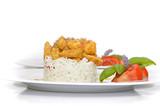 Fototapety Frisches Gemüse und Fleisch