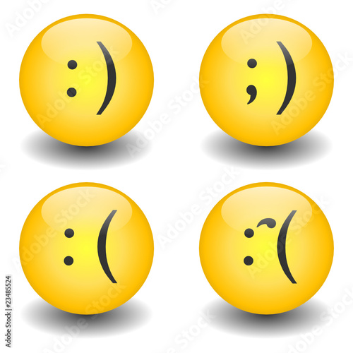 Txt Smileys - Happy & Sad