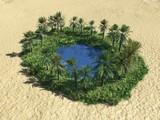 oasis in the destert