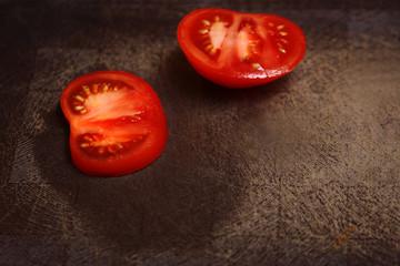 Segments of tomatoes