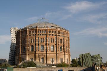 Gasometer in Vienna