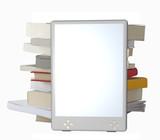 3D eBook reader poster