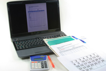 Computerized Financial end year and Tax declaration preparation.