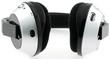 casque écouteur audio, fond blanc