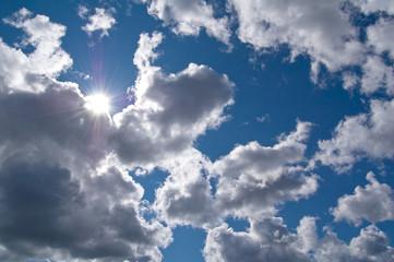 The summer sky.