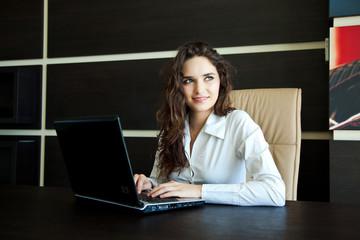 beautiful office woman