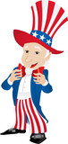 Uncle Sam United States of America. poster