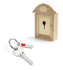House Key Box and Key