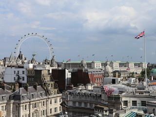London rooftops