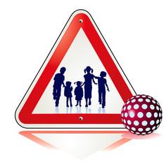 Vorsicht-Kinder