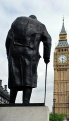 Statue of Winston Churchill, Westminster, London