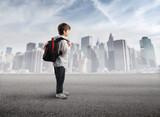 Fototapety School trip