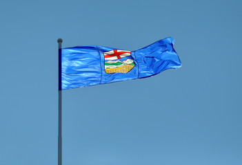Provincial Flag for Alberta, Canada