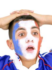 Supporter de la France surpris