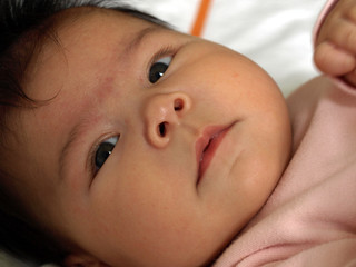 Bébé réveillé