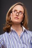 Intelligent woman poster