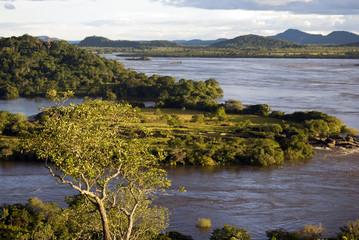 Rio Orinoco atardecer