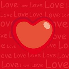 Tarjeta postal amor