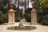 Brunnen im Botanischen Garten von Palermo