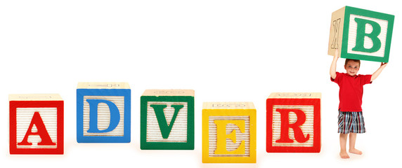 Alphabet Blocks ADVERB