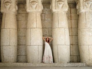 Egyptian woman priestess
