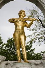 Johann Strauss memorial in Vienna - Stadtpark