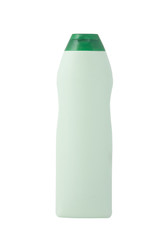 green bottle, cleaning product
