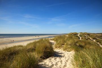 Strand und Dünen in der Normandie