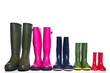 Group of wellie boots - 23523174